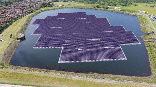 World's Largest Floating Solar Power Plant Operational in China