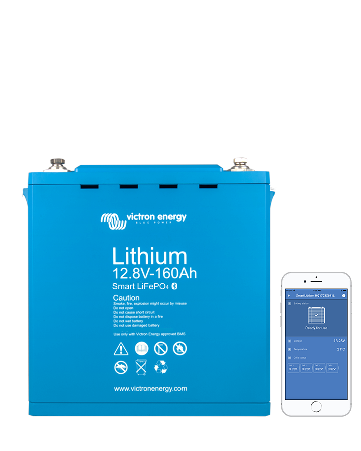 Victron Energy Lithium battery 12,8V Smart