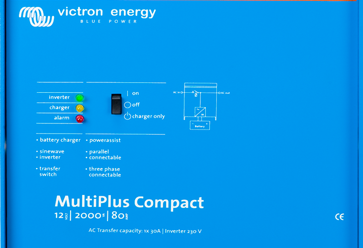 Victron Energy Multiplus inverter -Now improved with faster switching to grid