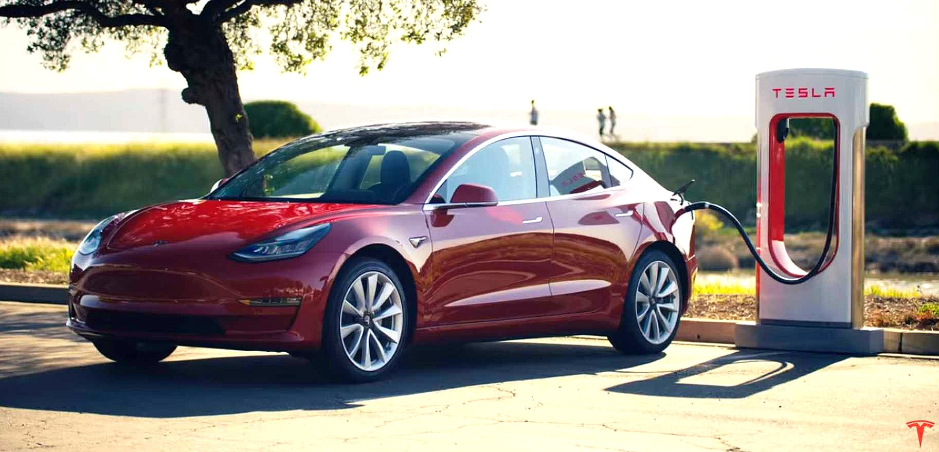 Tesla model 3 cars,now made in China